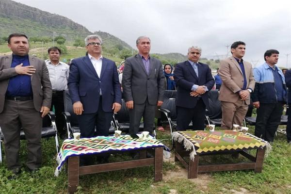 جشن نوروزگاه در منطقه گردشگری شلالدون باشت برگزار گردید