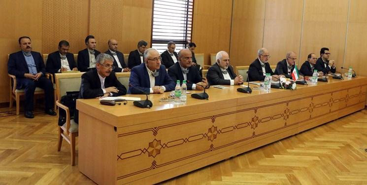 نشست مشترک هیأت های ایران و ترکمنستان در عشق آباد