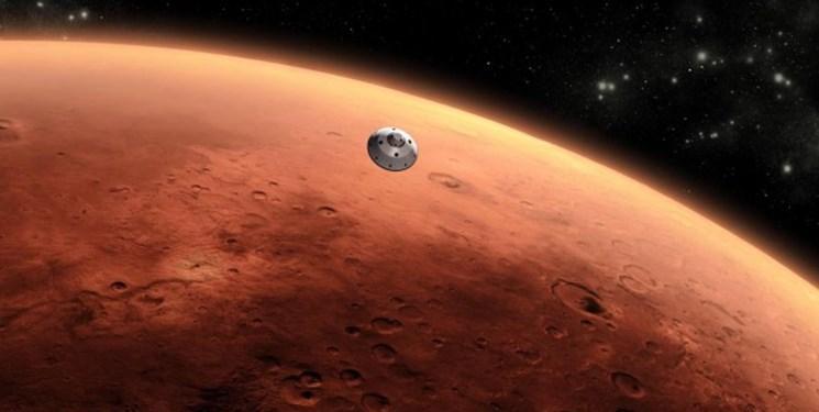 کشف یک منبع بزرگ از آب یخ زده در مریخ