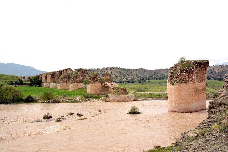 سیل، پل کشکان را از ثبت جهانی دور کرد
