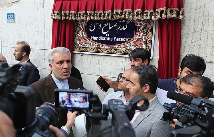 مونسان: هر شهر ایران حداقل یک بازارچه صنایع دستی خواهد داشت