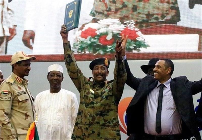تشکیل شورای حاکمیتی در سودان به ریاست البرهان