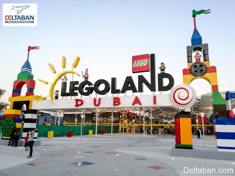 پارک موضوعی لگولند دبی چه تفریحاتی دارد؟