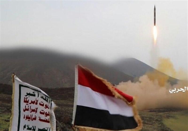 شلیک موشک های بدر 1 به فرودگاه نجران عربستان