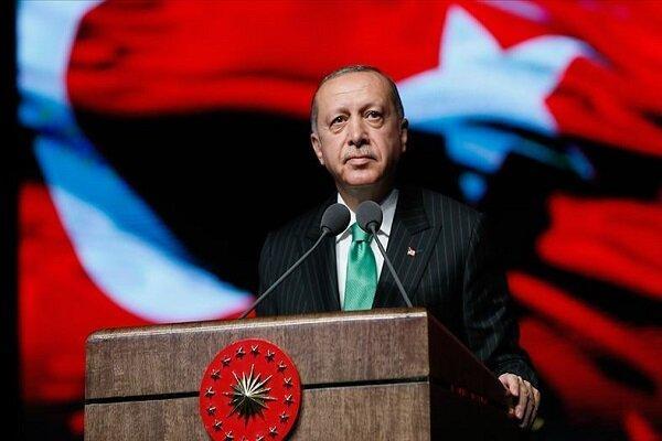 اردوغان: آمریکا به دنبال ایجاد منطقه امن برای گروه تروریستی است
