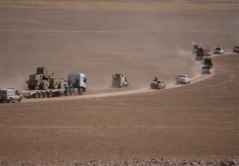 مقابله حشد شعبی عراق با یک پهپاد ناشناس در صلاح الدین