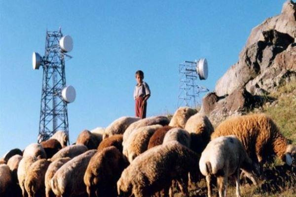 پوشش ارتباطات ماهواره ای برای 1000 روستا فراهم شد