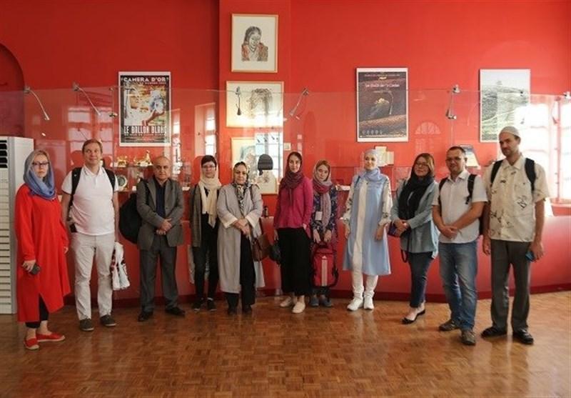 بازدید شرق شناسان روس از موزه سینما