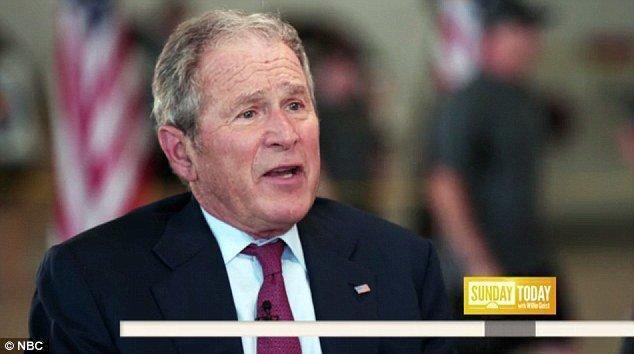 بوش منزوی سازی آمریکا توسط ترامپ را برای صلح جهانی خطرناک دانست