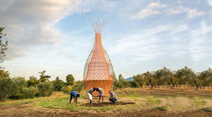سازه های هنری زیبایی که برای حفظ محیط زیست طراحی شده اند