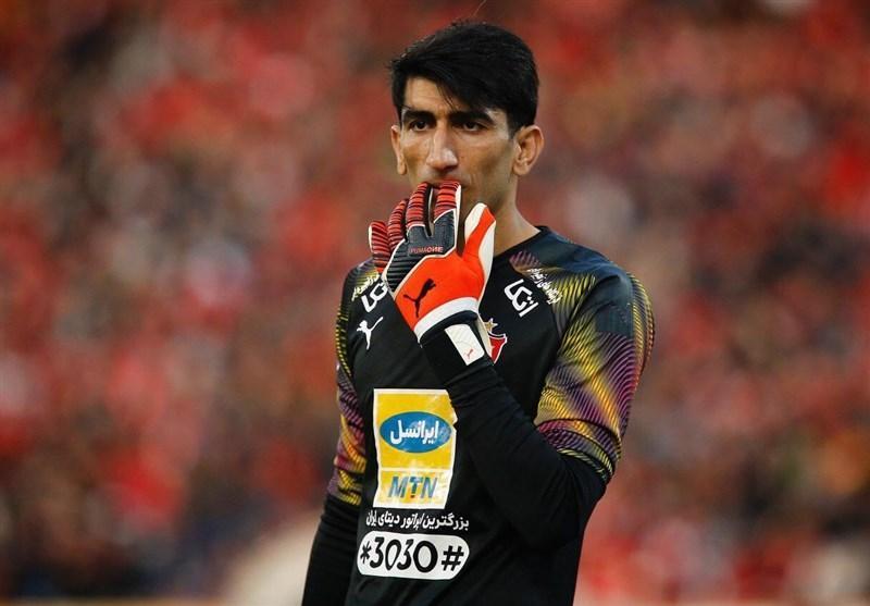 مصاحبه بیرانوند در میان 5 گفت وگوی کلاسیک AFC