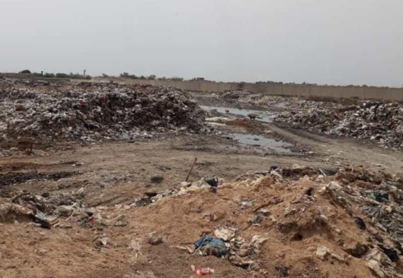 خبرنگاران اعتراض بزرگ ترین روستای خوزستان به سکوی متعفن زباله