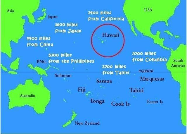 پمپئو در هاوایی چه می نماید؟