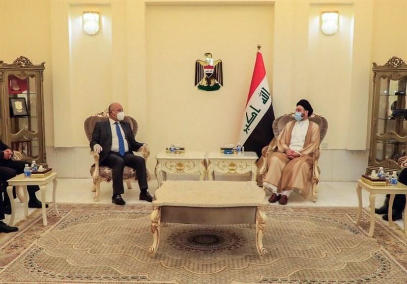 دیدار حکیم و برهم صالح ، اقتصاد و کرونا محور اصلی رایزنی ها