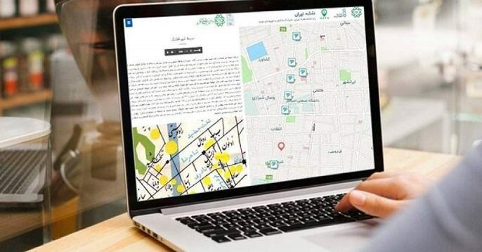 قصه های خیابان ولیعصر روی نقشه تهران جانمایی شد