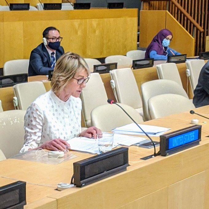 خبرنگاران سفیر آمریکا نگرانی ساختگی از تسلیحات ایران را تکرار کرد