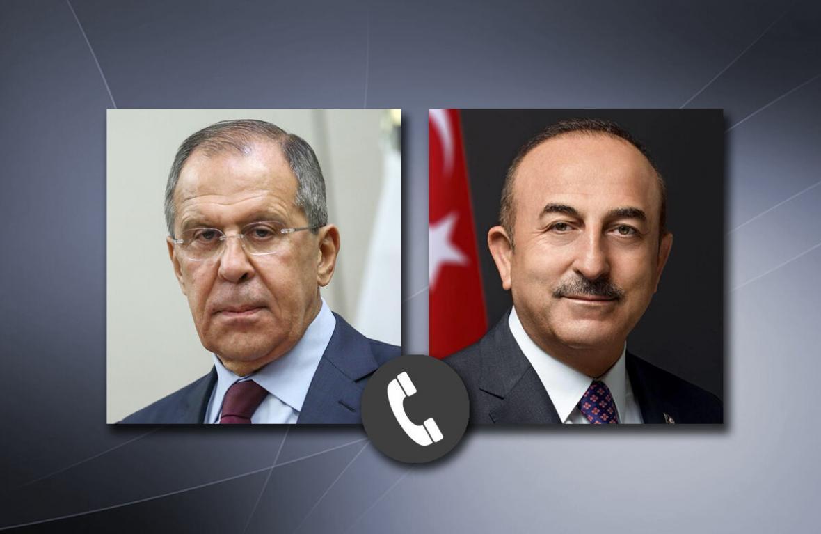 خبرنگاران گفت وگوی وزرای خارجه روسیه و ترکیه درباره قره باغ