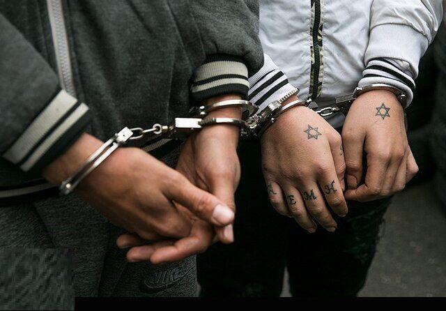خبرنگاران سارقان خودرو در بیجار دستگیر شدند