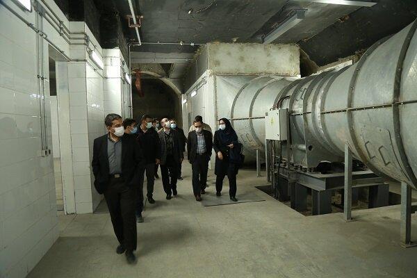 بازدید نمایندگان وزارت کشور از 2 ایستگاه مترو تهران