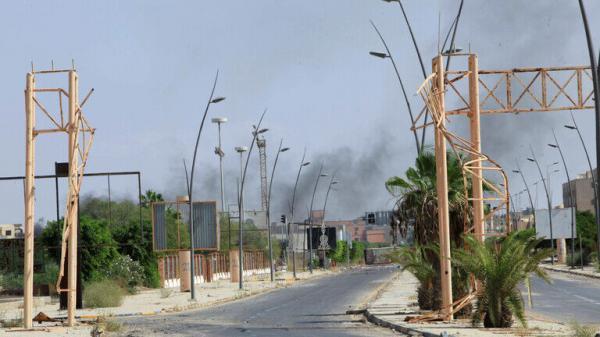 بعضی رسانه ها از حمله جنگنده های ناشناس به جنوب لیبی خبر دادند